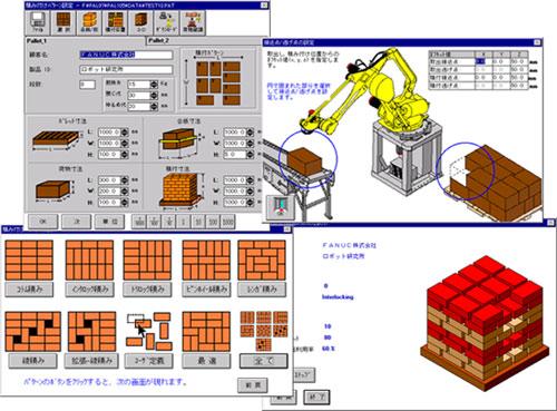 Celda de paletizado STP 1250